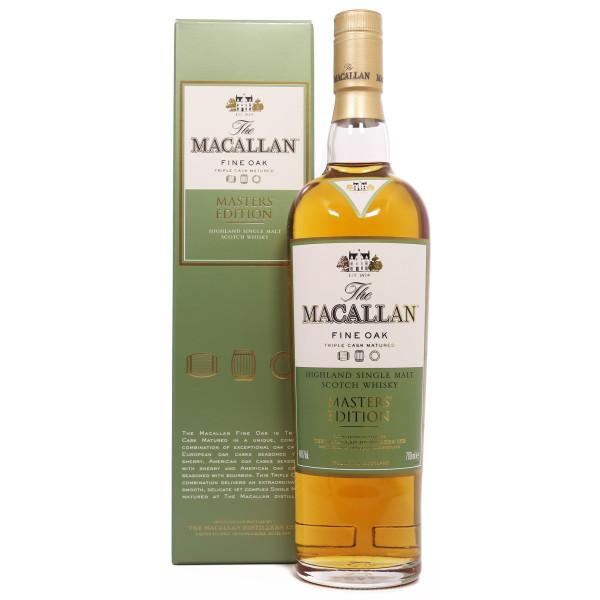 The Macallan Fine Oak Master's Edition