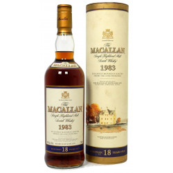 The Macallan 1983 18 Years Old