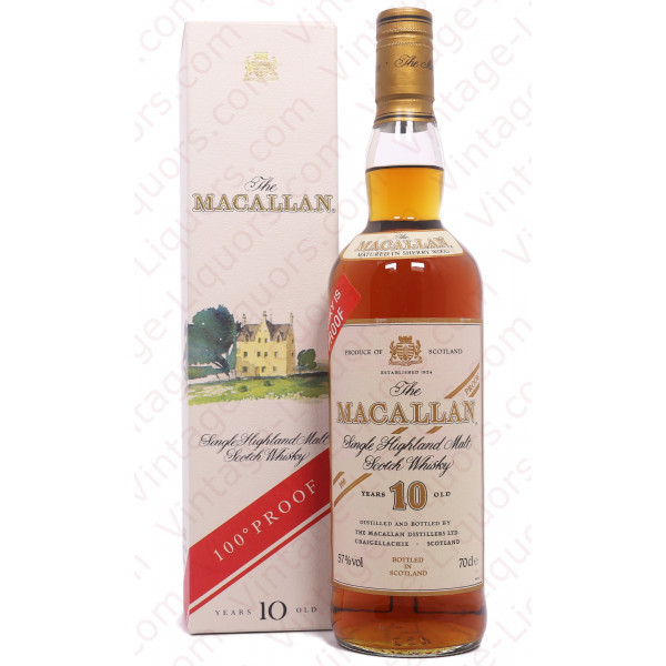 The Macallan 10 Years Old 100 Proof