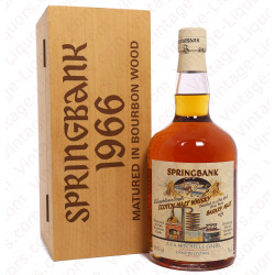 Springbank 1966 Local Barley 32 Years Old Cask 493