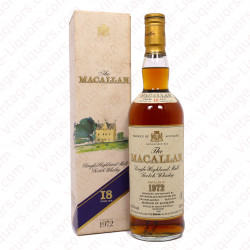 The Macallan 1972 18 Years Old