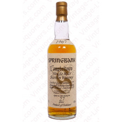 Springbank 1967 27 Years Old