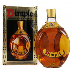 Dimple De Luxe Scotch Whisky 1970's