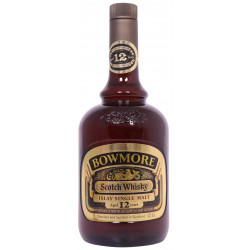 Bowmore 12 Year Old 1 Litre 1980s