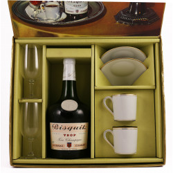 Bisquit VSOP 1960's Coffee Time gift set