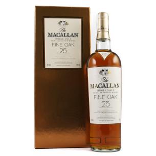The Macallan 25 Years Old Fine Oak